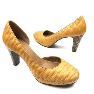 ANTHRO SHULER & SONS PHILADELPHIA QUILTED PUMP 9.5